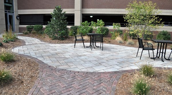 Patio for Employees