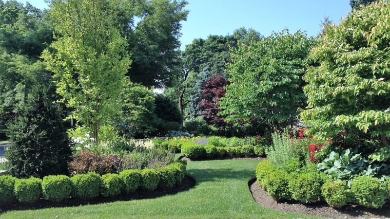 Gorgeous Lawn and Gardens after Landscape Maintenance