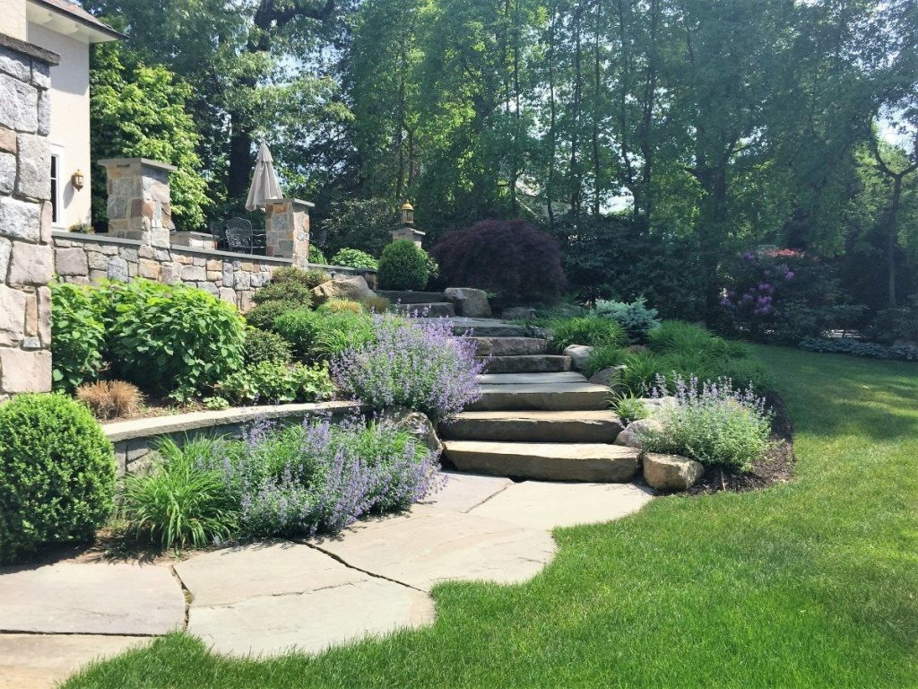stone walls steps u0026 stairs tode landscape